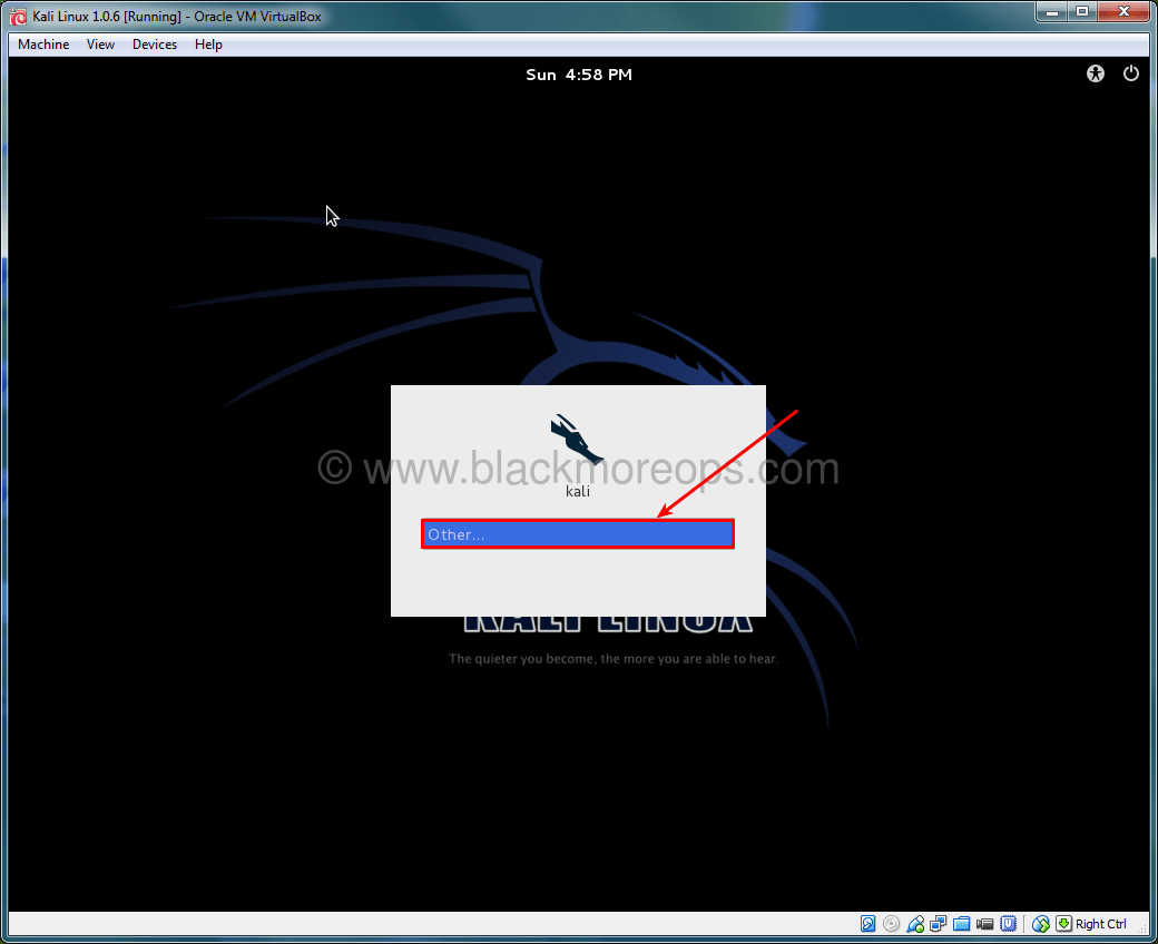 A detailed guide on installing Kali Linux on VirtualBox - blackMORE Ops - (41)