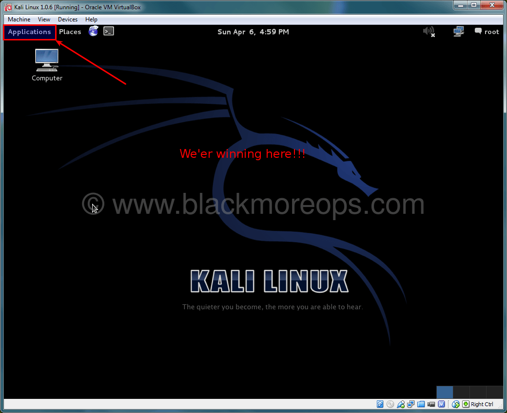 A detailed guide on installing Kali Linux on VirtualBox - blackMORE Ops - (43)