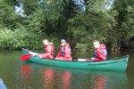 family---canoeing
