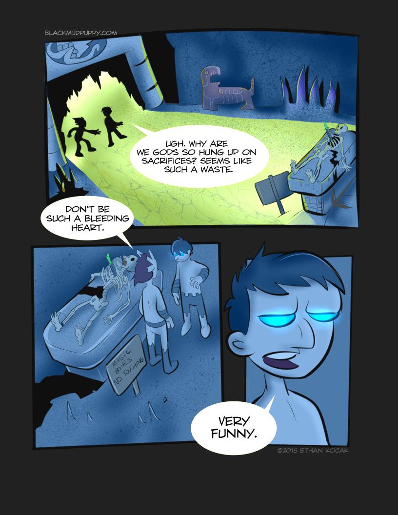 Blood Smoke And Mirrors Page 10