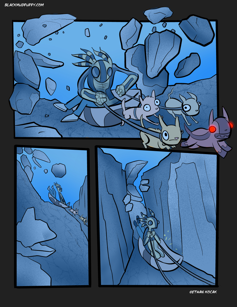 Blood Smoke And Mirrors Page 18