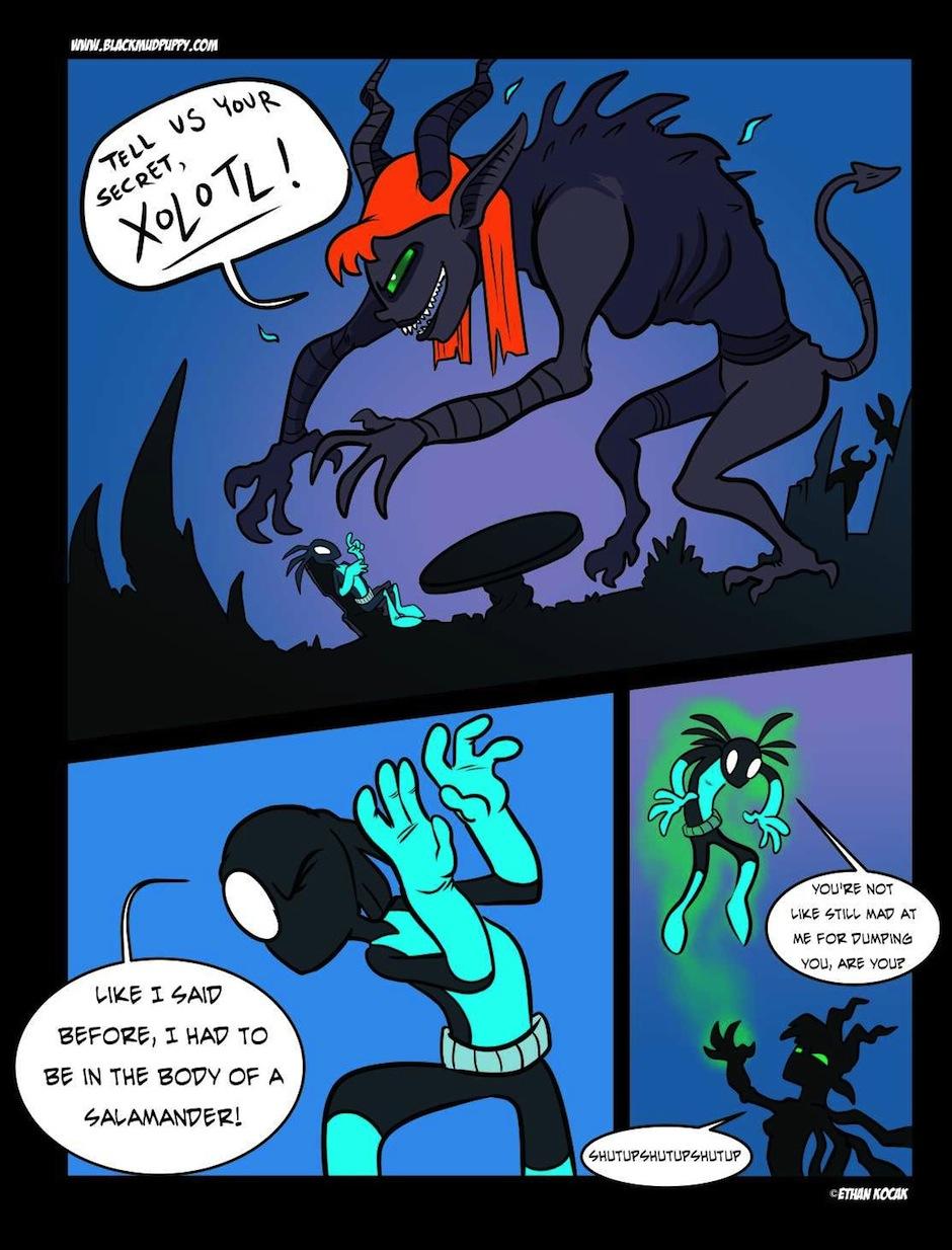 Hel Hath No Fury Page 14