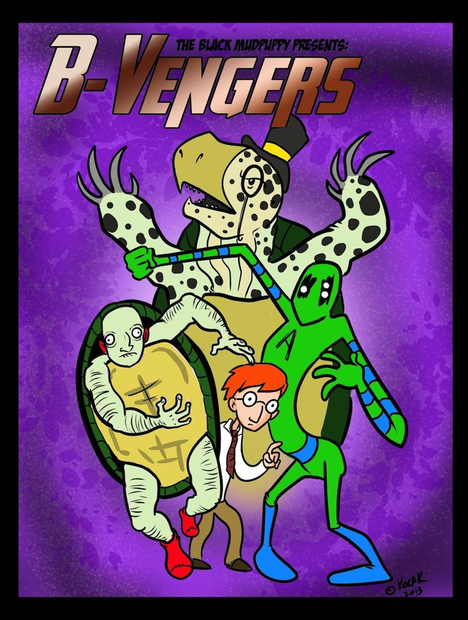 The B Vengers Cover