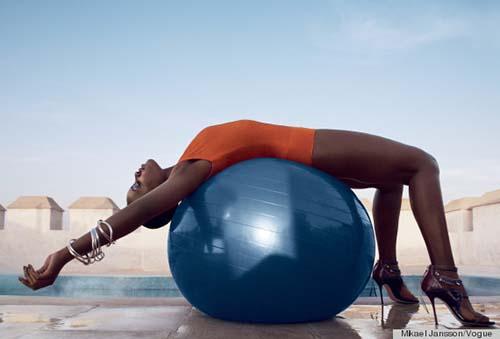 Lupita Nyong'o in Vogue
