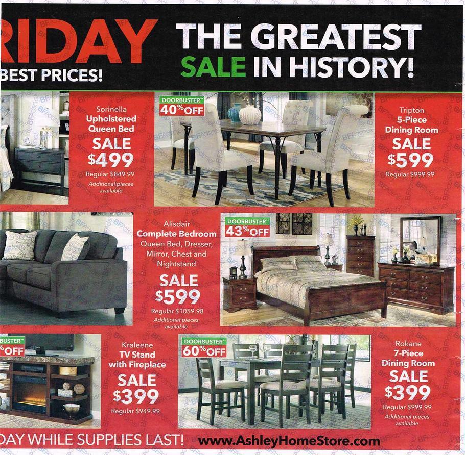 Ashley Furniture Black Friday Ad 2016
