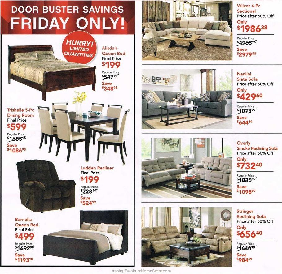 Ashley Furniture Deals 2017