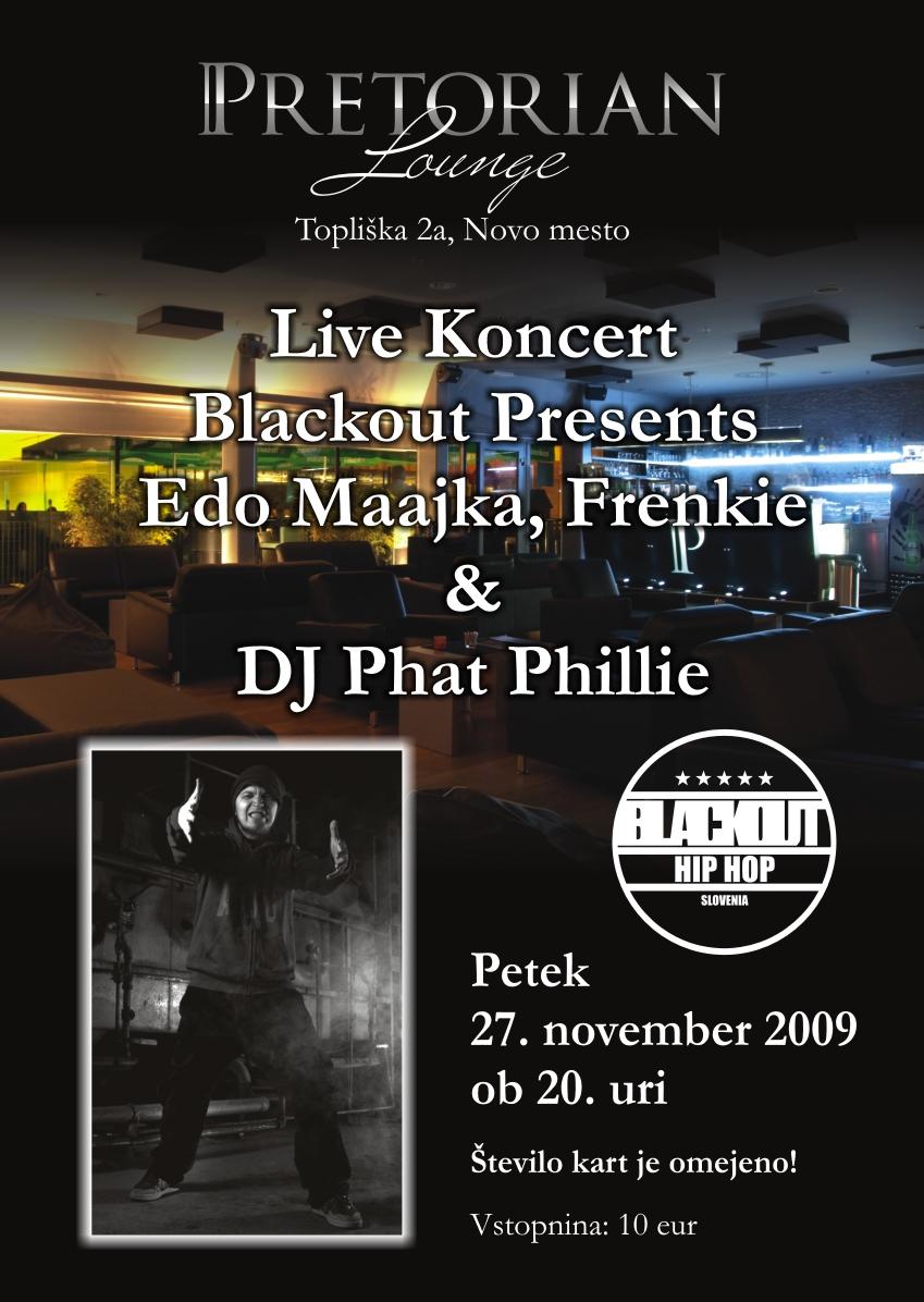 Pretorian Edo Maajka Blackout