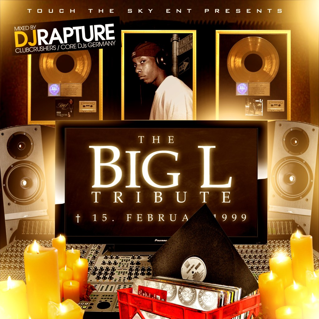 DJ RAPTURE - BIG L TRIBUTE (Cover)