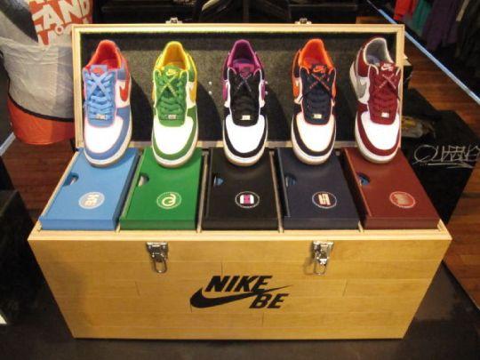 best loved 4ac3f 8a685 Nike Sportswear Air Force 1 Borough Pack « Blackout Hip Hop