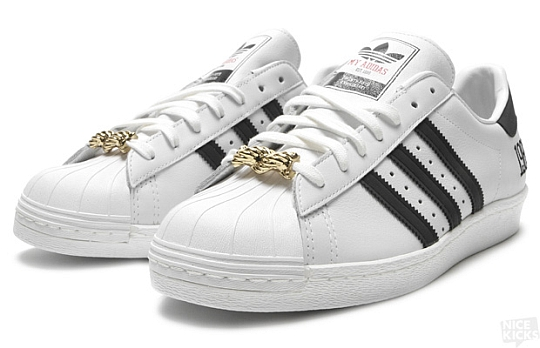 detailed look 33cdb d726f RUN DMC x adidas Superstar 80s  My adidas  « Blackout Hip Hop