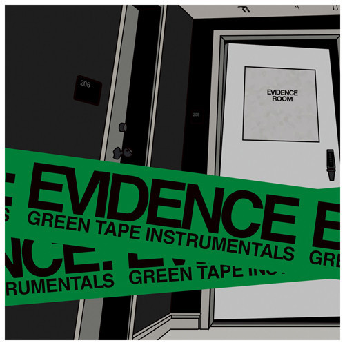 evidence green tape