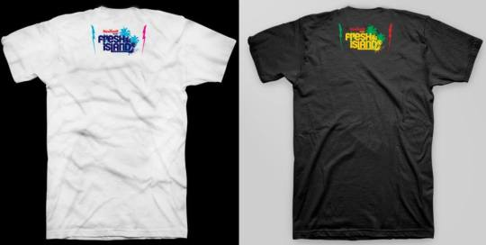 fresh island revolt t shirt
