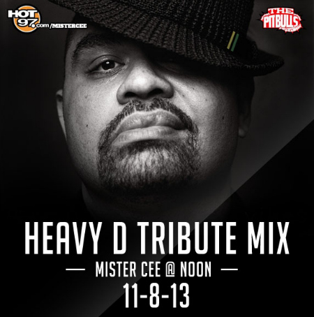 Mister Cee's 'Throwback at Noon' Heavy D Mix