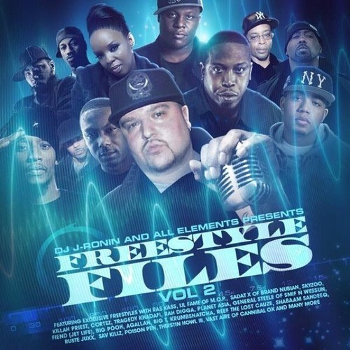 "DJ J-Ronin ""Freestyle Files vol 2"""