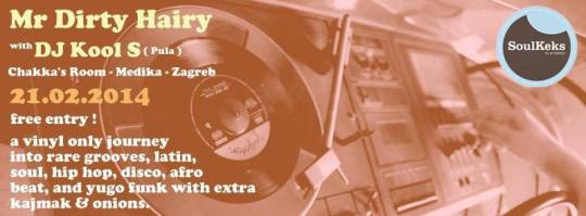SoulKeks: Mr Dirty Hairy with DJ Kool S (Pula) Chakka's Room 21.02
