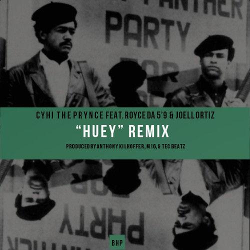 Cyhi The Prynce ft. Royce Da 5'9 & Joell Ortiz - Huey (Remix)