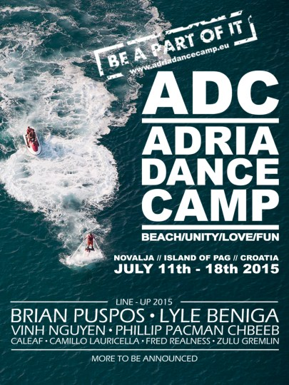 ADC line - up - flyer