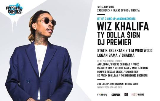Wiz Khalifa & Ty Dolla $ign At This Year's Fresh Island Festival