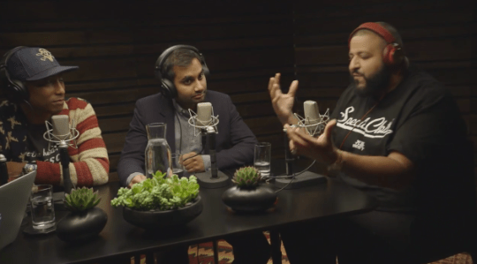 Video: DJ Khaled & Aziz Ansari Join Pharrell on OTHERtone