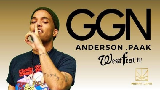 Video: Anderson .Paak on GGN (Hosted by Snoop)