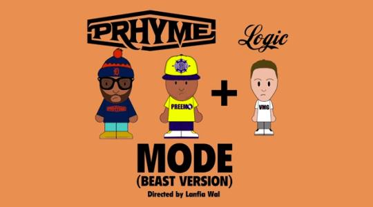 Lyric Video: PRhyme ft. Logic - Mode