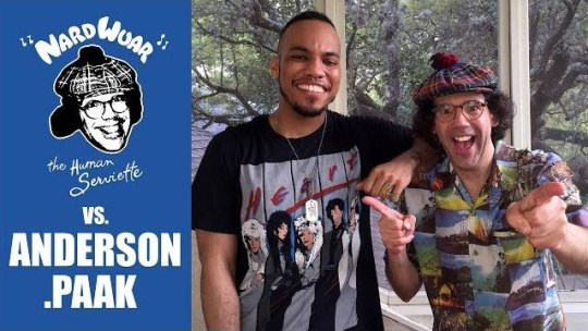 Video: Nardwuar vs. Anderson .Paak