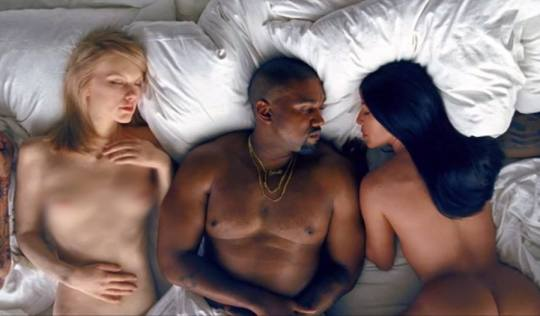 """Watch Kanye West's Strange Music Video for """"Famous"""""""