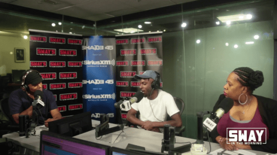 Video: Isaiah Rashad Interview on Sway in the Morning + 5 Fingers of Death Freestyle