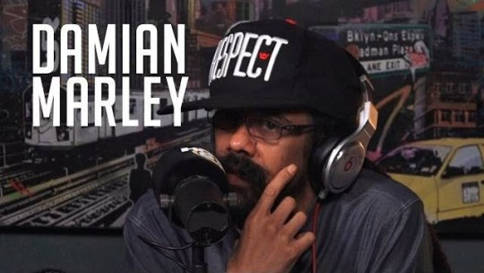 Video: Damian Marley on Ebro in the Morning