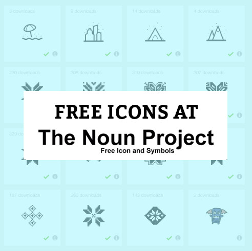 free icons noun project