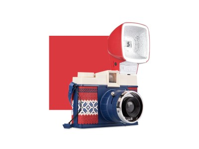 Lomography Diana F+ Winter edition