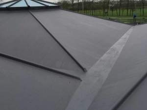 Roof Area After Completion.