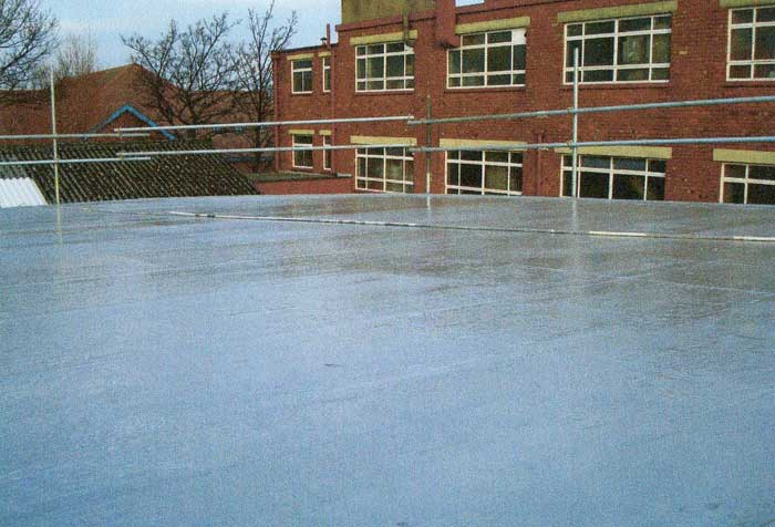 Fibreseal GRP Fibreglass flat roofing by Blackpool Industrial & Residential Roofing