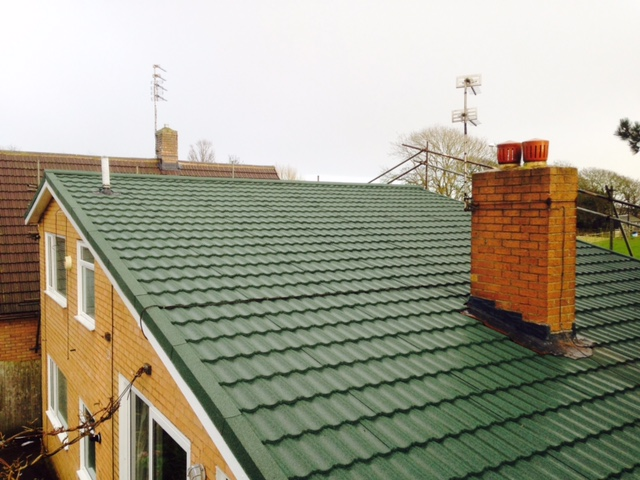 Metrotile lightweight roofing system is ideal for replacing failing concrete tile. Contact Blackpool Industrial Roofing about the Metrotile steel roofing tile system.