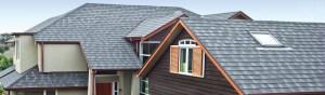 residential roofing using Metrotile