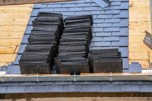 Natural Slate Tiles by Blackpool Industrial Roofing ltd. Residential Roofing Services.