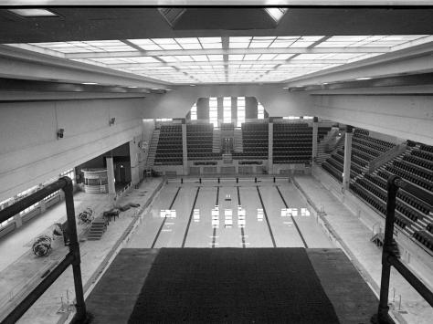 February 1988 with a view from the top diving board