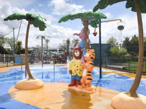 Outdoor splash zones have been open since April, but Haven employees are looking forward to indoor pools opening again. Picture: Daniel Martino/JPI Media