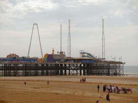 Blackpool is home to not one, not two, but three Victorian piers: North Pier, Central Pier and South Pier. Whether you're looking for live entertainment, amusement rides, arcades, food stalls and games, there is something for everyone. The only Blackpool Pier to hold Grade II listed status, the North Pier is a wonderful starting point for exploring Blackpool's beaches. Central Pier is extremely family-friendly, with arcade games, a funfair and the popular Funhouse Family Bar. South Pier is a mini theme park, featuring go-karting, dodgems, waltzers, the Crazy Mouse rollercoaster, Skycoaster, Skyscreamer bungee ride, Spider Mountain climbing frame and Maxibounce trampolines.