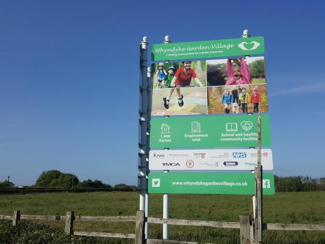 Land at Whyndyke Farm is earmarked for housing