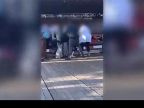 A heated exchange over queue jumping at South Pier dodgems led to a fight and a family removed from the attraction.