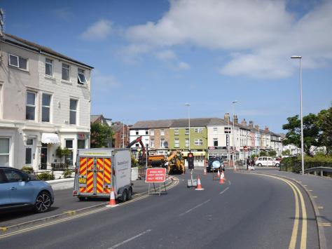 Talbot Road regeneration area will involve road closures including High St and the junction with Talbot Road and Dickson Road