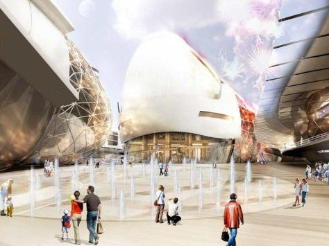 Architect firm Gensler unveiled this picture of its proposed £350 million 160,000msq Conference and Casino Quarter in Blackpool back in 2006.