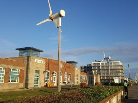 The wind turbines at the Solaris are to be replaced