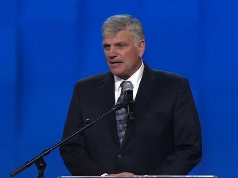 US evangelist Franklin Graham