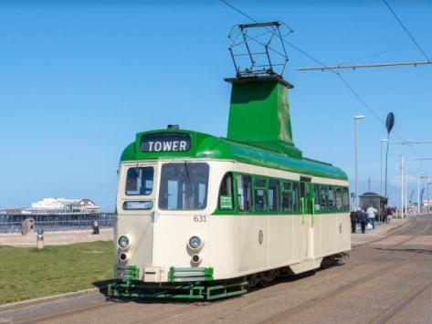 The tram that is set to be unveiled later today