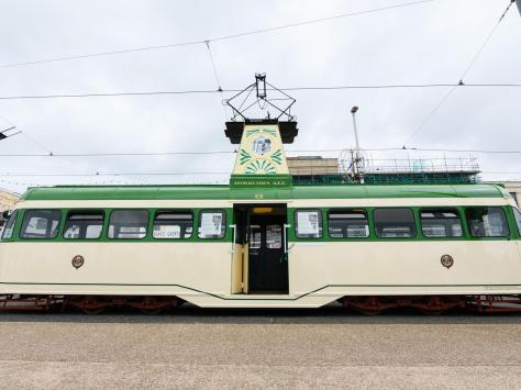 The tram had the number 631 before its renaming