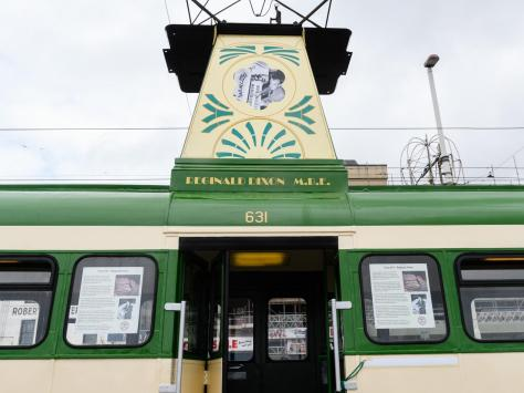 With the resort set to welcome a record number of visitors over the summer, the Blackpool Heritage Tram team are acknowledging Reg for his contribution to the promotion of the town in times gone by.
