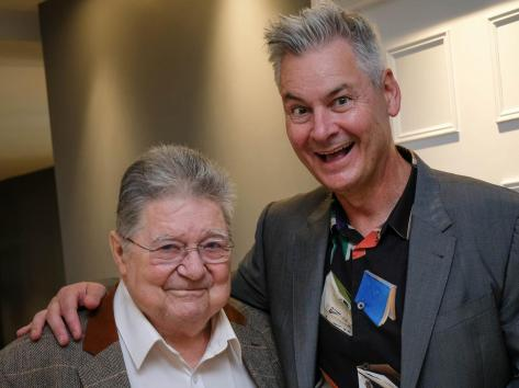 Comedians Johnnie Casson and Phil Walker
