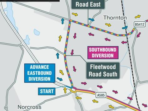 More on the diversions